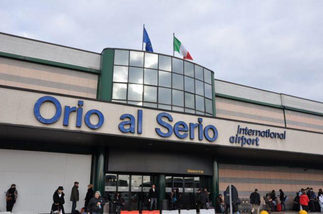 immagine volo da Bergamo -RYLL-